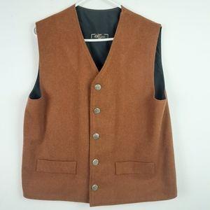 Marc Olivier MOD Flannel Vest Size Medium